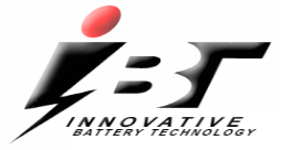 IBT - Innovative Battery Technology